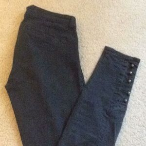 J Brand Skinny Jeans Pants Legging Black Sz 24